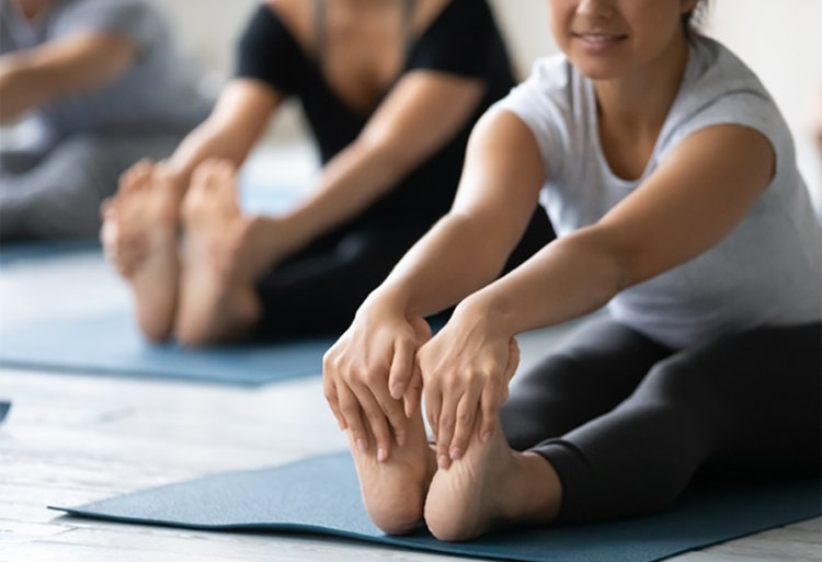 Stretching Toes Feet Yoga